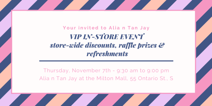 VIP EVENT Your invited